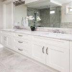 Bathroom Vanities - White - 003 - Bathroom Shaker Cabinets