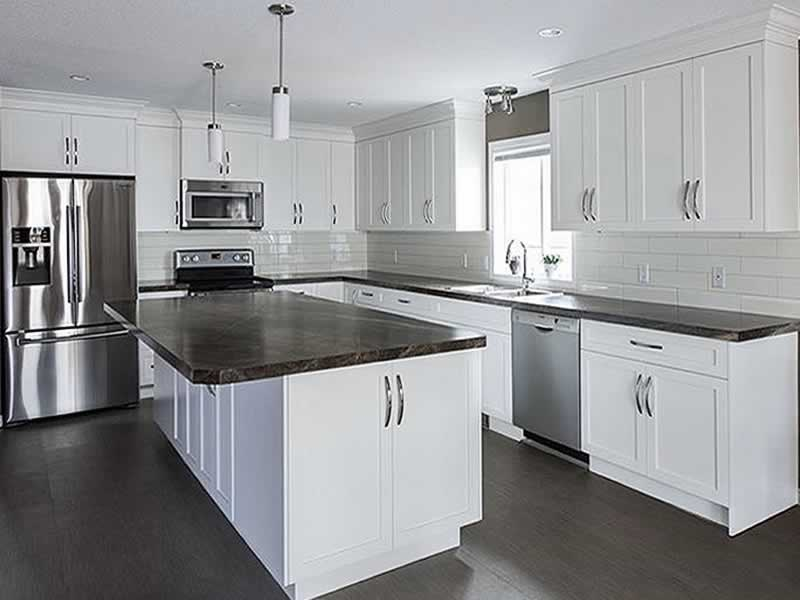 Kitchen Cabinets White 006 Sunset Custom Cabinetry