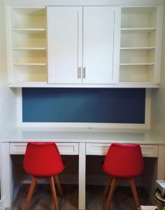 Kids custom desk - Celebrating two years in business - Fort Myers - Sunset Custom Cabinetry and Woodwork