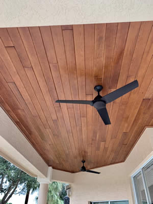 Enhanced Ceiling Products Tongue And Groove Ceilings - Fort Myers Florida - Sunset Custom Cabinetry and Woodwork - 239-771-8652 - 300 x 400