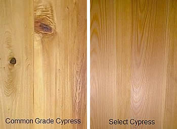 Common Cypress Vs Select Cypress - Enhanced Ceiling Products - Fort Myers Florida - Sunset Custom Cabinetry and Woodwork - 239-771-8652 - 300 x 178