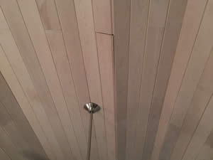 Top 10 Wood Ceiling Mistakes - No Expansion Joints - Enhanced Ceiling Products - Fort Myers Florida - Sunset Custom Cabinetry and Woodwork - 239-771-8652 - 300 x 225