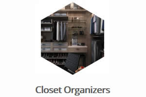 Closet Organizers - Sunset Custom Cabinetry and Woodwork - Fort Myers Florida - 300 x 200
