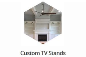 Custom TV Stands - Sunset Custom Cabinetry and Woodwork - Fort Myers Florida - 300 x 200
