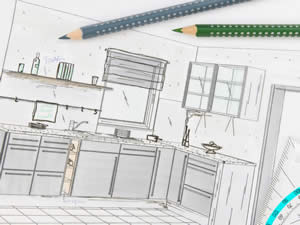 Kitchen Cabinet Planning - Sunset Custom Cabinetry and Woodwork - Fort Myers Florida - 300 x 225