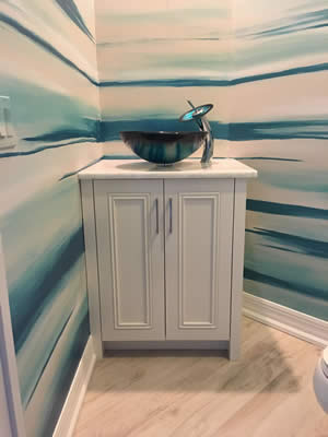 Bathroom Cabinets - Sunset Custom Cabinetry and Woodwork - Fort Myers Florida