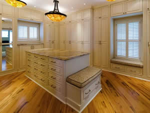 Closet Cabinets - Sunset Custom Cabinetry and Woodwork - Fort Myers Florida