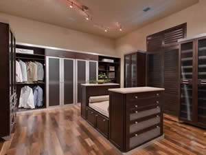 Custom Closets - Sunset Custom Cabinetry and Woodwork - Fort Myers Florida