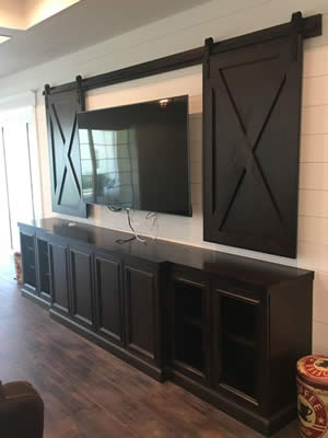 Custom TV Tables - Sunset Custom Cabinetry and Woodwork - Fort Myers Florida