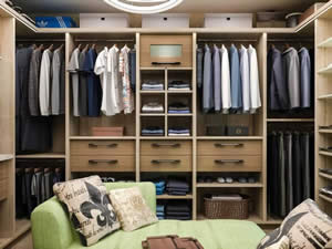 Designer Closet - Sunset Custom Cabinetry and Woodwork - Fort Myers Florida