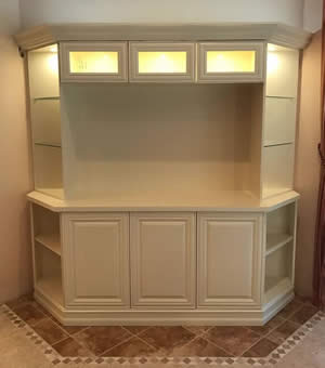 Media Centers - Sunset Custom Cabinetry and Woodwork - Fort Myers Florida