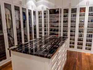 Shoe Organizer - Sunset Custom Cabinetry and Woodwork - Fort Myers Florida