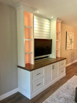 TV Cabinets - Sunset Custom Cabinetry and Woodwork - Fort Myers Florida