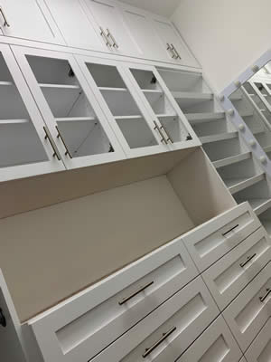Closet Cabinets - Sunset Custom Cabinetry and Woodwork - Fort Myers Florida - 300 x 400