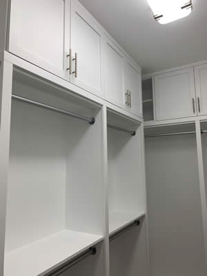 Closet Organizer Ideas - Sunset Custom Cabinetry and Woodwork - Fort Myers Florida - 300 x 400