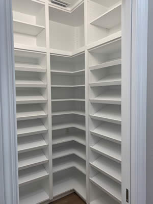 Shoe Organizer - Sunset Custom Cabinetry and Woodwork - Fort Myers Florida - 300 x 400