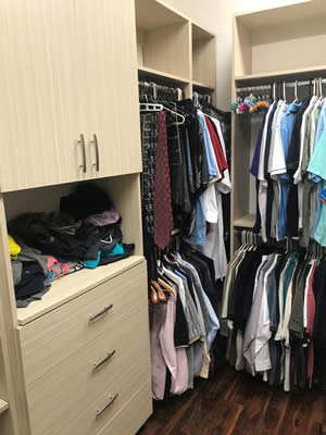Wardrobe Closet - Sunset Custom Cabinetry and Woodwork - Fort Myers Florida - 300 x 400