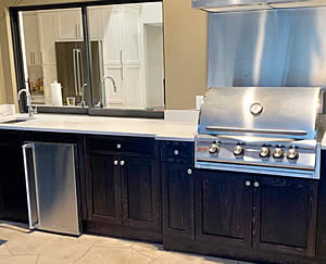 Built-In Grill - Sunset Custom Cabinetry and Woodwork - Fort Myers FL