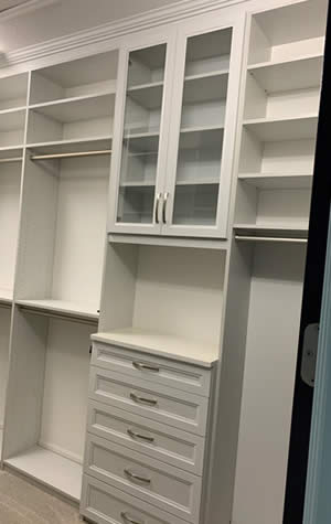 Designer Closet - Sunset Custom Cabinetry and Woodwork - Fort Myers Florida - 300 x 475