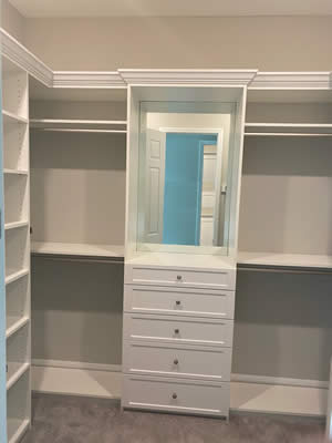 Wardrobe Closet - Sunset Custom Cabinetry and Woodwork - Fort Myers FL - 300 x 400